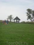 Поклонный крест из д.Чуйнаволок. Расположен рядом с поворотом на пристань.