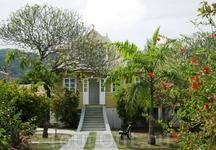 La Digue Island Lodge, дом плантатора