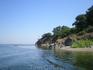 """Устье реки Ропотамо. Этот природный заповедник называют местной """"Амазонкой"""". Истоки реки находятся у гор Странджи."""