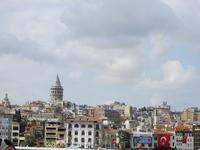 Вид на Галатскую башню