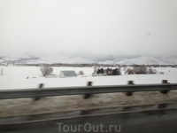 Зимние окрестности Солт Лейк Сити.