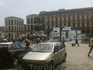 Площадь перед Собором. В центре скульптура Виктора - Эммануила.