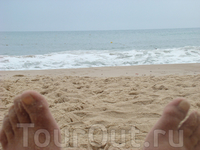 Я, песок и море =)