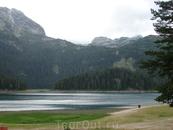 Черное озеро в национальном парке Дурмитор.