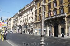 Рим.   Via  Nazionale.