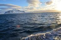 вдоль побережья Свальбарда