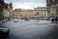 Просто улица, по пути к Пражскому Граду.