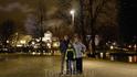 """Вечерняя набережная в центре Тампере, по которой мы прогуливались время от времени. А поскольку рассветало обычно в одиннадцать, а темнело в четыре, """"вечернего"""" ..."""