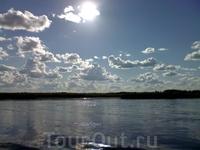просторы реки Лена