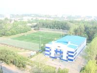 Оказывается есть в городе хорошие поля для футбола (размеры конечно...). Вот в Чкаловском районе например.