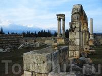 Руины города Анджар