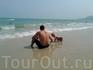 Мои мужички на пляже Чавенг (нам он очень понравился)