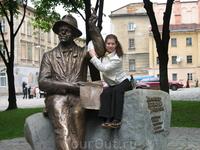 одна из Львовских скульптур