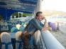 Перекусили в симпатичном кафе с видом на море и каким-то морским названием.