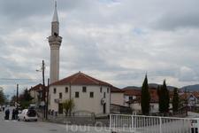 в мусульманском квартале Охрида