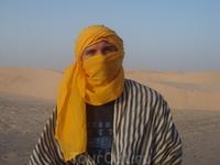 Поехали в Сахару.