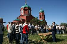 12 июня 2009 на Куликовом поле провожали в армию лучших призывников Тульской области