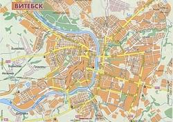 карта витебска с улицами скачать