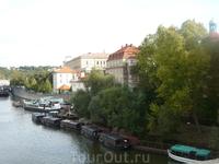 Прага, вид с Карлового моста
