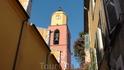Самое высокое здание Сен-Тропе. Часы издалека видно.