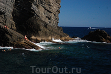 Экстрим на лигурийском побережье