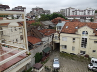 Вид из окна хостела в Белграде