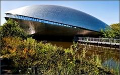 """Собственно, вот из-за этого чудища мы и приехали: Научный центр """"Универсум"""" архитектурные ассоциации очень разнообразны, не правда ли?"""