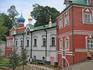 В Псково-Печерском монастыре.