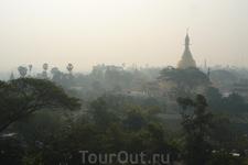 Янгон на рассвете