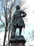 Памятник Петру в Петровском парке