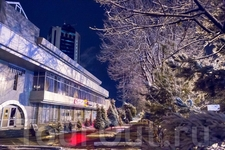 Зимний и новогодний Ташкент 2016