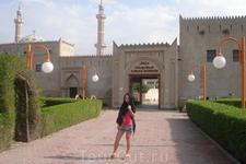 Аджманский национальный музей. В нем по сути тоже самое  что и в Дубайском. Но мне он показался более содержательным.