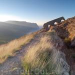 Сторожевая стена на горе Аскети