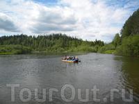 Река Березовая. начало сплава, июнь 2010