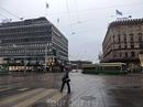 Погода в Хельсинки была мрачная, пасмурная, совсем как в Петербурге