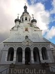 Фасад собора сейчас реставрируют, но все же его можно поймать в кадр