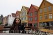 Ганзейская набережная Брюгген внесена в список Всемирного наследия ЮНЕСКО. В хорошую погоду здесь всегда много народу. Тут я присела отдохнуть и попить ...
