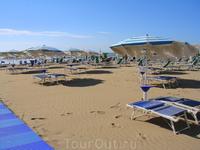 Лидо ди Езоло, в сентябре уже немного пустынно и ветренно...