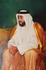 Шейх Дубая. Картина в холле 7-зведночного отеля Эмирейтс Палас.