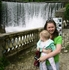 Новый Афон.Искусственный водопад на реке Псырцха.