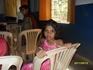На индийской свадьбе. Девочка с большими глазами)))