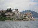 Островок с разрушенной турецкой тюрьмой в Скадарском озере