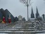 шпили Кёльнского собора