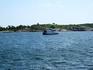 А это военный учебный кораблик. В заливе у Хельсинки множество островов, на которых расположились учебные военные базы, так что и корабли такие плавают ...