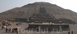 Теотеокан. город покинутый гигантами до возникновения цивилизации ацтеков. пирамида солнца