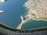 Вид на Тунис из окна самолёта.