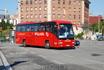 Вот такие туристические автобусы ездят по Барселоне.