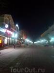улица Советская, 22:00, после спектакля