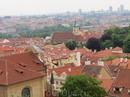 Прага со стен Пражского града