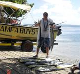результат двухчасовой рыбалки